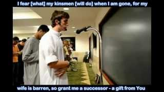 Young American Imam Reciting Surah Maryam Mary mother of Jesus)   YouTube