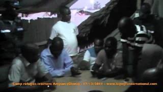 Réfugiés Ghana (3) - Remercier le Ghana au nom du président Gbagbo - 17/12/2011