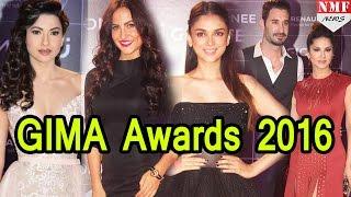 Bollywood Stars At GIMA Awards 2016 |Sunny Leone, Zarine Khan,Sonakshi Sinha, Badshah