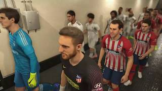 MATCH OF THE DAY • Atletico Madrid vs Real Madrid 09/02/2019 Pes