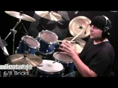 Drum Lesson - 6/8 Grooves - Expanding A Base Beat