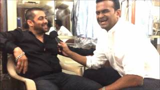 Salman Khan for the first time ever talks about his engagement rumours to Siddharth Kannan