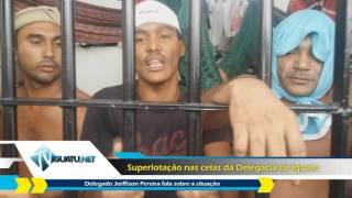Delegado de Iguatu fala sobre superlotação nas celas