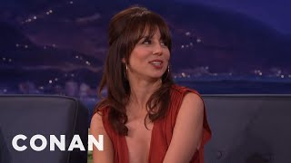 Natasha Leggero Was Thrilled To Become Jewish  - CONAN on TBS