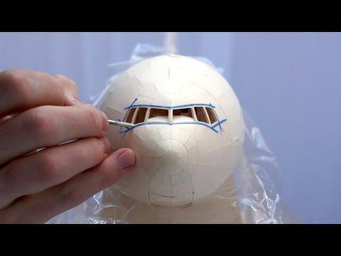 PAINT SHOP Painting Time lapse Air India Manila Folder 777 300ER