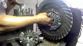 Gardan Mobil Truk Rusak...? Begini Cara Servisnya | How to Service Axle