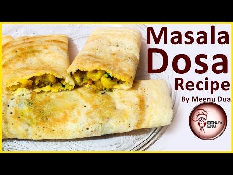 Masala Dosa Recipe in Hindi - South Indian Masala Dosa