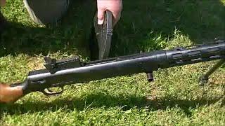 Soviet Degtyarev DP-28 Light Machinegun