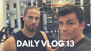 Marc Megna Motivation, Deadlifts & Recovery - Sean Garner VLOG Episode 13
