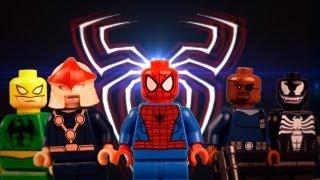 LEGO ULTIMATE SPIDERMAN EPISODE 1 BATTLE OF DOC OCK and SANDMAN