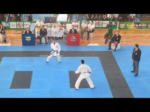 Pan Americano de karate Rio 2016 vídeo final