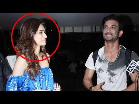 Kriti CANNOT Take Her Eyes Off Rumoured BF Sushant