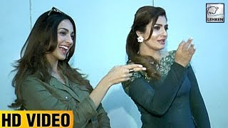 Raveena Tandon Does 'Tu Cheez Badi Mast Mast' With Kiara Advani | LehrenTV