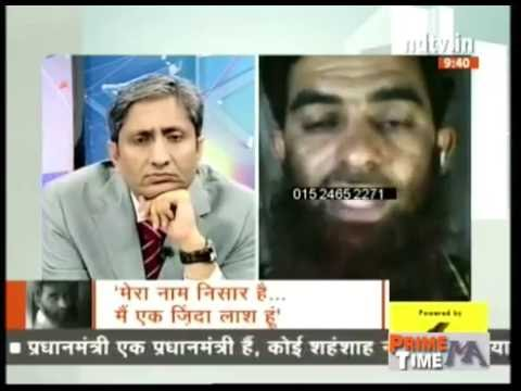 NDTV Ravish Kumar Prime time,23 years in Jail Nisar Emotional story