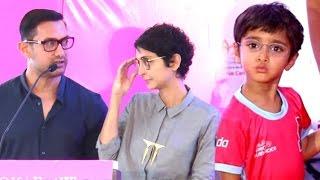Aamir Khan EMOTIONAL Speech On Surrogate Son Azaad With Kiran Rao