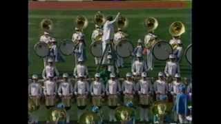 1984 Olympic All American Marching Band Opening Ceremonies part 1