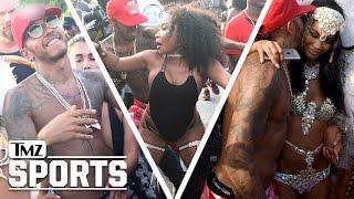 Lewis Hamilton Crotch-Thrustin' Like a Champ at Barbados Parade | TMZ Sports