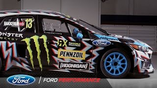 2017 Hoonigan Racing: Death Spray Custom Focus RS RX | FIA World Rallycross | Ford Performance