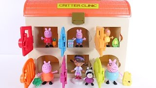 Learning Colors at the Critter Clinic Peppa Pig Cartoons for Children, Kids, Babies, Toddlers