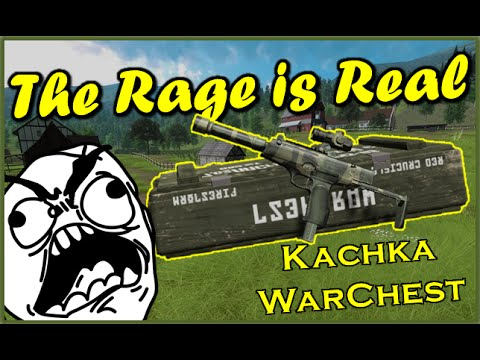 THE RAGE IS REAL Kachka WarChest Red Crucible Firestorm