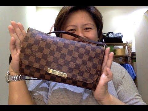 Xxx Mp4 REVIEW Of Louis Vuitton Favorite Pochette In Damier Ebene MM 3gp Sex