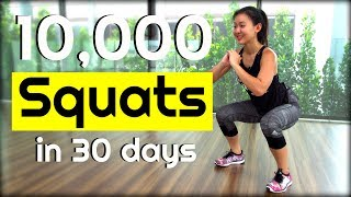 10,000 SQUAT Challenge in 30 Days   Joanna Soh