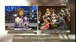 ماذا دار بين الرئيس مرسى ودكتور أحمد كمال أبو المجد