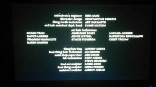 The Cat in The Hat Movie Credits
