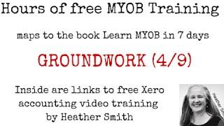 Free MYOB Training Learn MYOB IN 7 Days Day 2 Part 2 (4/9)