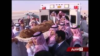 ولي العهد يودع جثمان الأمير سطام في مكة