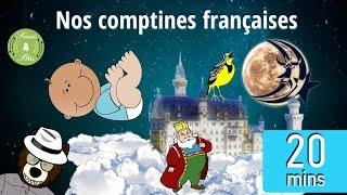 Alouette : Nos comptines françaises (vidéo avec des paroles de karaoké) | French nursery rhymes
