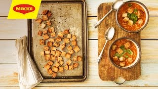 How to prepare easy-made crispy croutons الكروتون المقرمش سهل التحضير