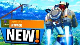 NEW *JETPACK* in FORTNITE! BUT DOES IT SUCK?! (Fortnite Battle Royale)