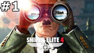 SNIPER ELITE 4 Gameplay Walkthrough Part 1 Co-Op
