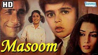 Masoom (1983){HD} - Hindi Full Movie - Naseeruddin Shah - Shabana Azmi -80's Popular Bollywood Movie