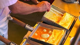 Japan Street Food - Tamagoyaki Japanese Omelette