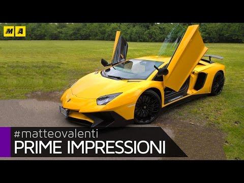Lamborghini Aventador SV Prime impressioni