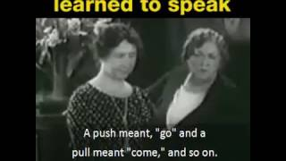 How Helen Keller Learned To Speak
