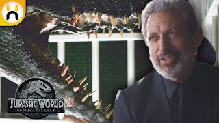 Ian Malcolm and Indoraptor First Looks! - Jurassic World Fallen Kingdom Preview Breakdown