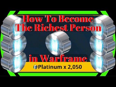 Warframe Platinum Series | Greatest Way to Make Platinum EVER!