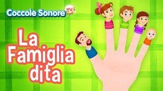 La Famiglia dita + altre canzoncine - Canzoni per bambini di Coccole Sonore