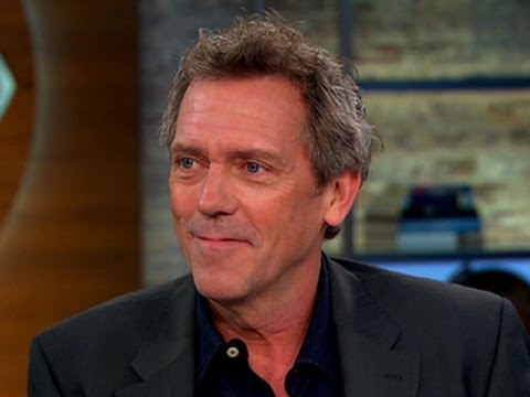 Hugh Laurie explains why he loves music over acting