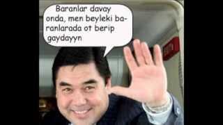 Turkmen prezidentinin icki dunyasi