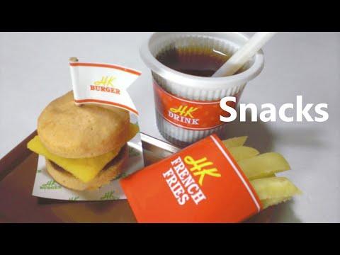 Kracie - happy kitchen #4 - Mini Burger, French fries
