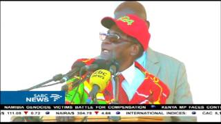 Pres Mugabe makes 1st appearance since his return from Singapore