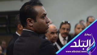 صدى البلد | ضابط الرقابة الإدارية في محاكمة محافظ المنوفية السابق: رصدنا تلقيه رشوة
