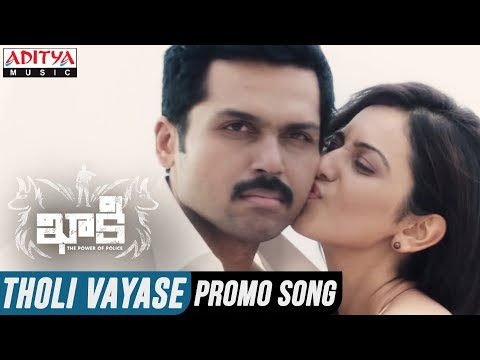 Xxx Mp4 Tholi Vayase Video Song Khakee Telugu Movie Karthi Rakul Preet Ghibran 3gp Sex