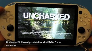 Uncharted Golden Abyss - Favorite PSVita Game