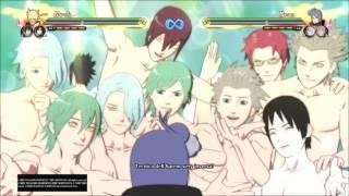 Naruto Shippuden Ultimate Ninja Storm 4 | Sexy Reverse Harem no Jutsu (Konan, Chiyo, Kaguya) ITA