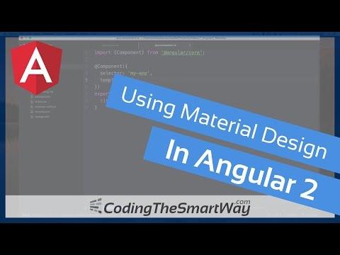 [Coding Tutorials] Material Design With Angular 2 Tutorial